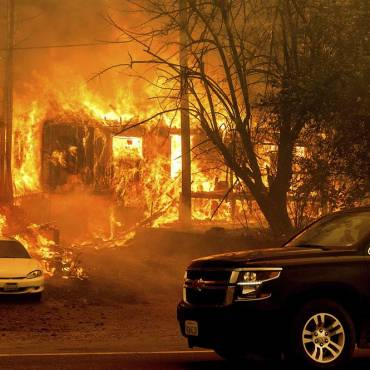 Dixie Fire now second-largest wildfire in California state history